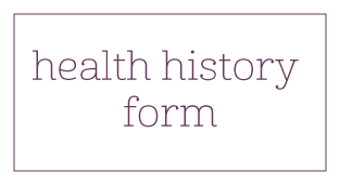 Pediatric Health History Form